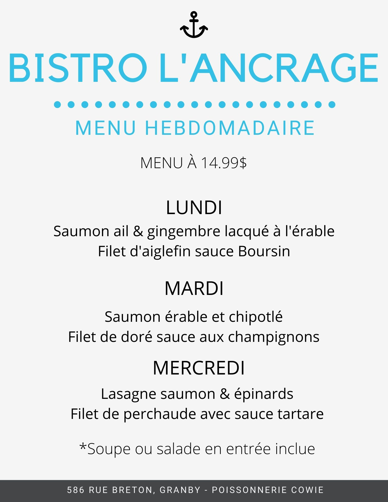 Menu Lundi mardi mercredi final